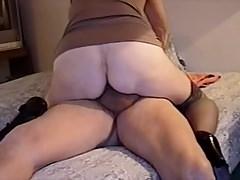 Grandma loves fucking a big cock