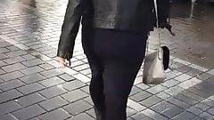 Hijabi walking