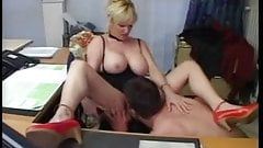 GERMAN MILF FUCKED IN THE OFFICE 03