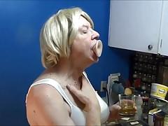Naughty Gigi - More deep throat fun