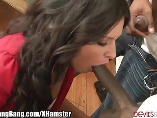 Danica Dillon Dp D And Gangbanged By  Bbc S