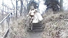 Sally Shakespeare Flashing in public