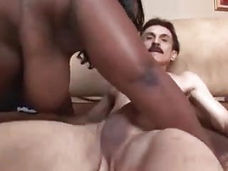 BBW black girl fucks white guy