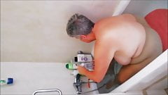 bathing and working pt3