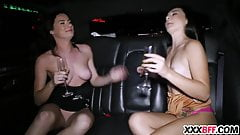 BFF Sharing Dick At New Years Eve
