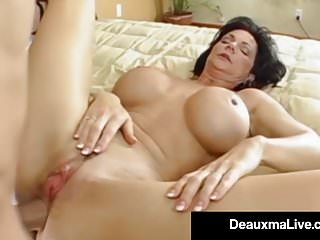 Preview 5 of Stunning Fit Milf Deauxma Gets Ass Banged By Hard Young Stud
