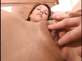 Cute Brunette Gets Her Pussy Massaged And Fingered