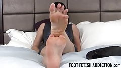 I think your foot fetish is really sexy