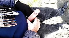 old man showing his dick