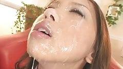 AV-Girl Mimi - Delightful Bukkake