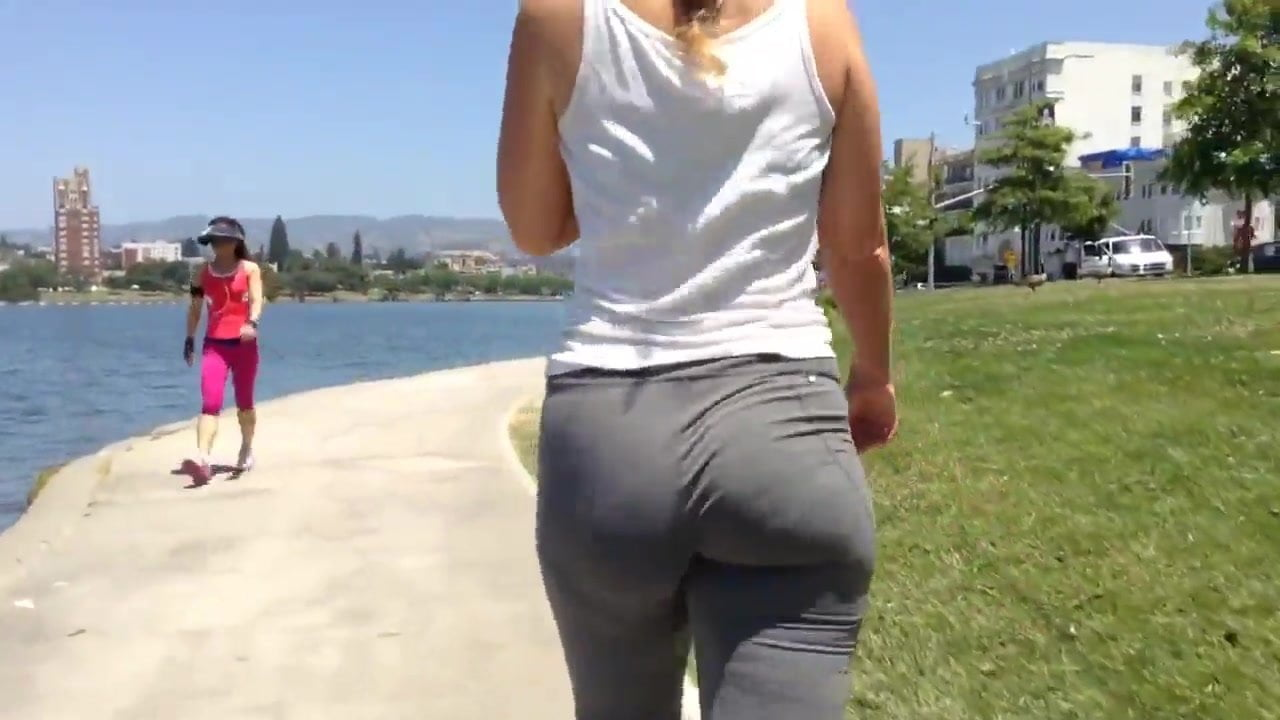Pawg milf tight yoga pants