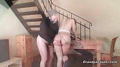 Grandpa fucks amazing babe
