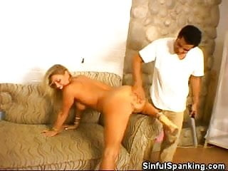 Naughty Honey With A Spanking Fetish