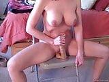 homemade wife alone dildo-ride