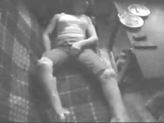 Voyeur sister masturbating - Must see my horny sister masturbating on couch. hidden cam