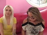 Sweet Blonde Teen Pimped Out By Mom