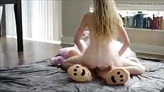 Strap on teddy bear
