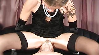 Sitting on Slaves Face
