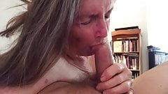 Grandma chokes on it