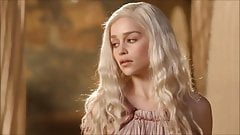 02.04 - Cum Tribute on Emilia Clarke - SE