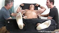 Asian jock Axel Kane restrained and tickled relentlessly