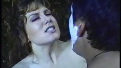 Busty slut gets anal gangbang outdoors