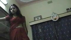 Indian cute Bengali Newly Weds Couple honeymoon sex at Home