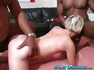 BBC gangbang for UK milf Tracy Venus
