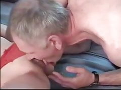 Dady seduce cute curly hair daughter with glas and fuck her 's Thumb