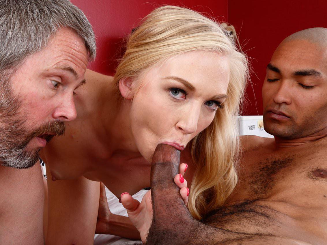 Red pornstar sex in front survey
