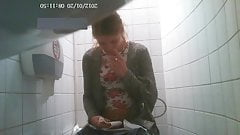 College toilet hidden cam