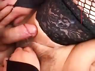 Mature mother fucked by two young boys