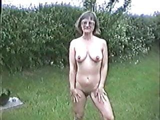 Naked munich english garden - Naked in the garden 2