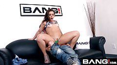 BANG Casting: Kimber Woods Raw Anal Pounding
