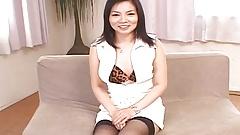 Chiharu Sakura plays with her pussy - More at hotajp.com