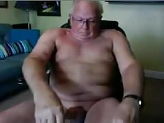 beautiful old man Fingering webcam