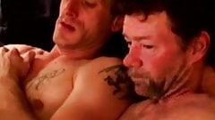 Dirty redneck dudes in masturbation