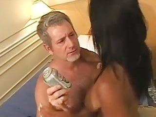 Horny Old Man fucks a Gorgeous Brazilian Girl
