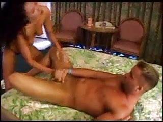 Pornostar Makes Amateur Guy Cum Too Fast