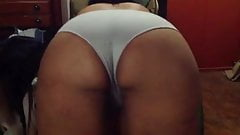 Wife swaying her phat ass