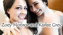 karlee grey, Karlee grey and zoey_monroe porn image