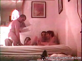 Velvet Swingers Club Amateur threesome What friends are for