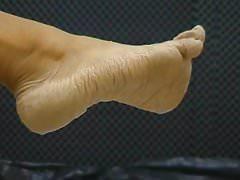 Bianca's wet feet