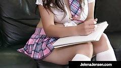 Penthouse Pet Jelena Jensen Fingers Her Juicy Throbbing Twat