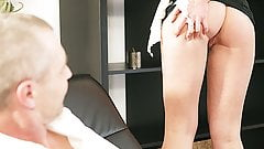 OLD4K. Playful blonde wanted to have fun with her older...'s Thumb