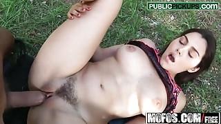 Valentina Nappi - Italian Girl Fucks Bro - Public Pick Ups