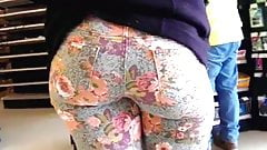 PHAT ASS IN COLORFUL JEANS!!!
