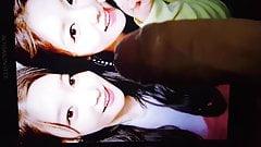 DIA Chaeyeon & Seo Ji-hye cum tribute ( ioi , korean actor )