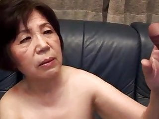 Japanese granny knows her place