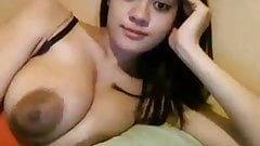 Amazing breasts on cam
